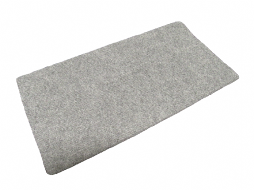 Anti-Slip Caravan Step Mat Grey Cover - Universal Rug Feet Clean